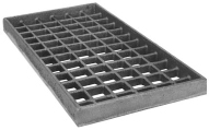 "Grate, Bottom (Cast Iron, 8"" x 15"")"