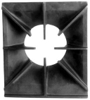 Grate, Burner (front or rear single burner grate for Challenger)