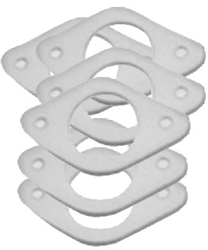 Burner Head Gaskets for Wolf Range - Pack of 6