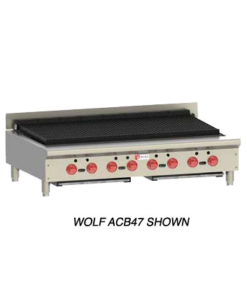 Wolf Char Broiler Model ACB60 Achiever (Natural Gas)