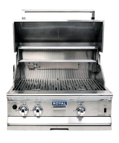 Royal Outdoor Grill, 30 inch wide, Stainless Steel (LP)