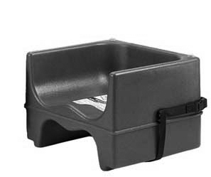 Booster Seat, Dual Sided, black