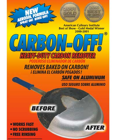Carbon-Off cleaning product