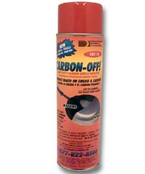 Carbon Off Spray Gel Comes in a spray can