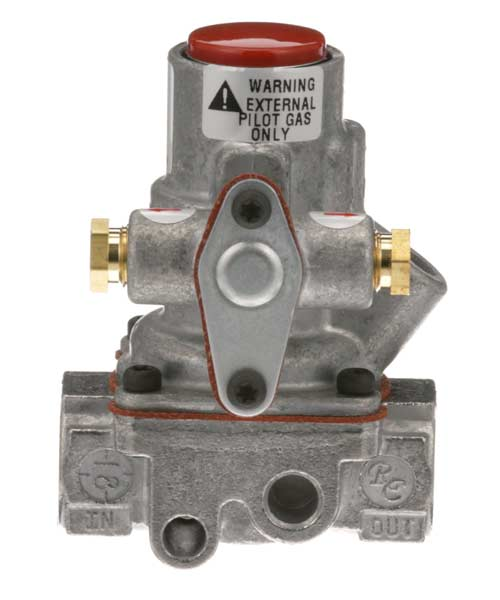 "Safety Valve - 3/8"" NPT gas in/out, 1/4 CCT pilot in/out"