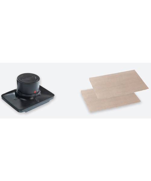 Crepe Griddle Cleaning Pad Holder (Includes two cleaning pads)