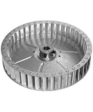 Blower wheel for convection motor, Montague Vectaire, VG, Grizzly, 136 series