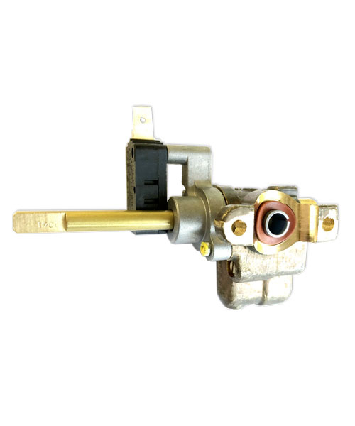 Burner Valve, AK Top Burner, Assembly with microswitch