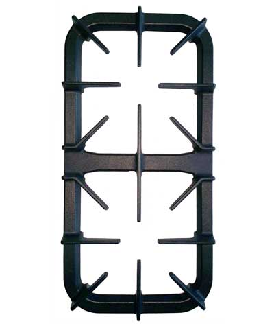 Burner Top Grate, two burner section, for NXR DRGB or NRG Series