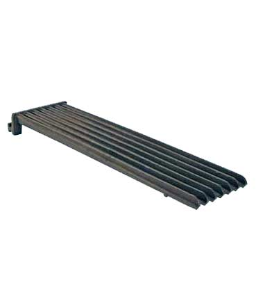 Grate for SCB, Straight Ribbed, Cast Iron, reversible