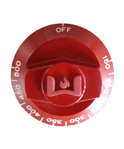 Residential Knob, Red 150-500 degrees