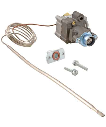 Oven Thermostat,  W or V Series Economy/Medium Duty