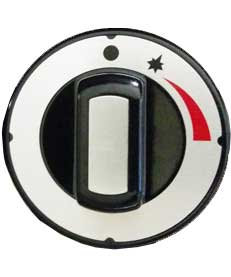Knob for top burners Wolf Challenger XL C36SFF models