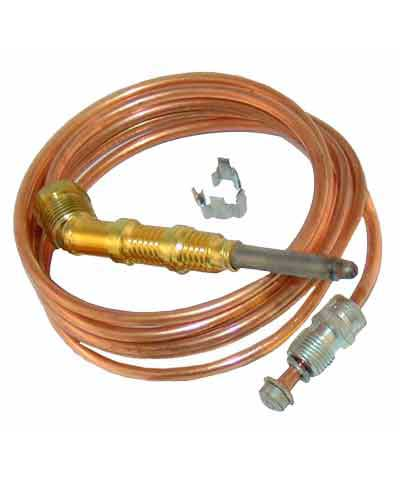 Thermocouple with 48 inch copper capillary, for Safety Valves