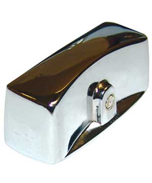 Knob, Chrome, for Wolf or Vulcan Broilers, etc.