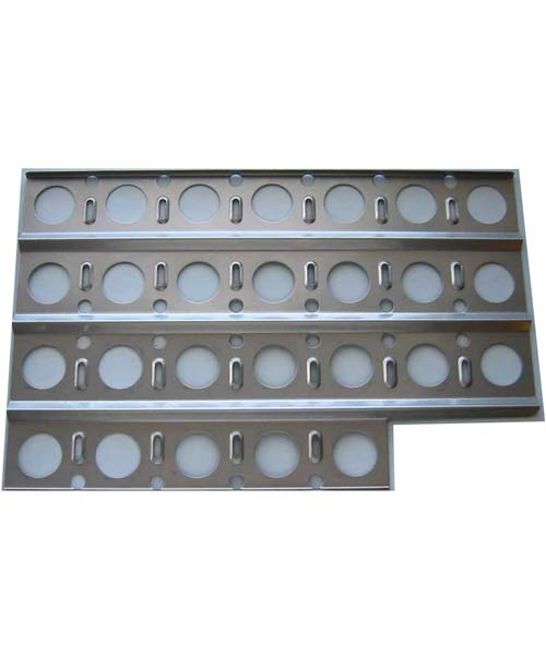 Briquette Tray - Notched (cutout corner for Dynasty DBQ grills)