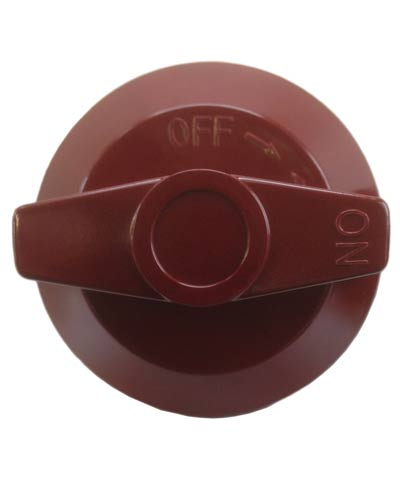 Knob D for Wolf Range Cooking Equipment, Red