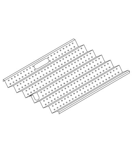 Royal Radiant for BBQ, 17-3/8 x 12-1/4, for 30 and 42 inch grill