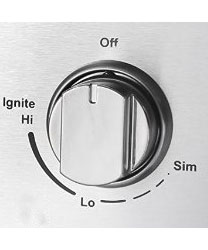 Knob, THOR control knob for Top Burner (Discontinued - Not Avail