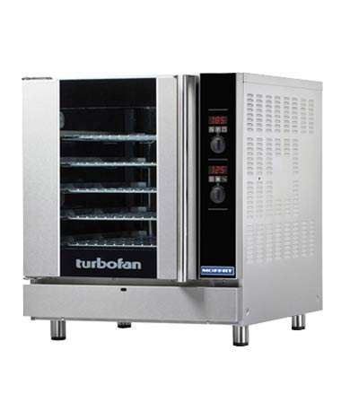 TurboFan Gas Convection Oven, full-size, 5-tray (Natural Gas)