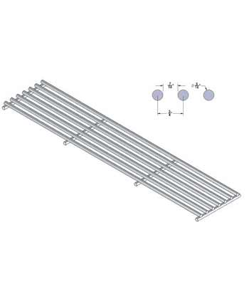 Grate for SCB, Round Rod