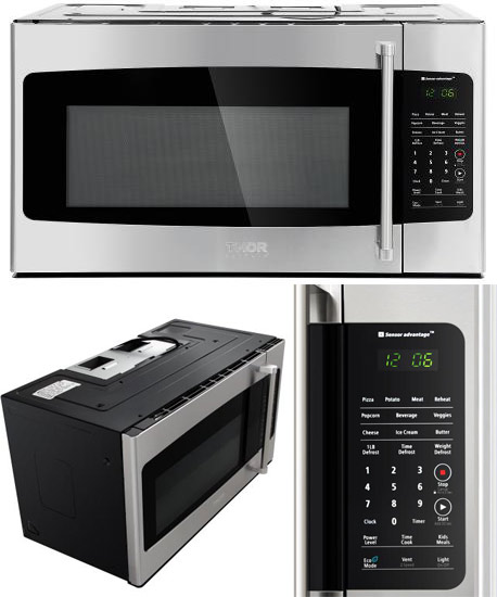 Microwave Oven, Over The Range, 1000 watt (Discontinued Model)