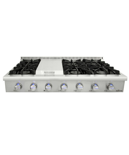 THOR Professional Cooktop Range, 48 inch, 6 burners, griddle, LP