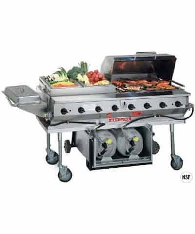 MagiCater LPAGA-60SS Commercial Barbecue Grill