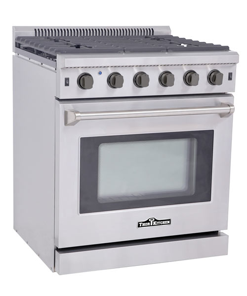 THOR 30 inch Professional Gas Range with 5 burners
