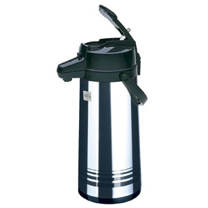 Update Airpot 2.5 Liter - Lever Top - Stainless
