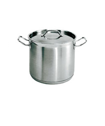 8 Quart Stainless steel stockpot, with lid