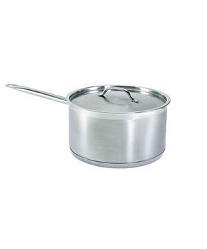 2 Quart Stainless sauce pan, with lid