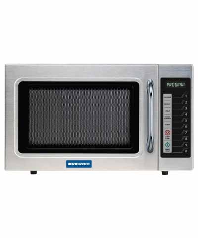 Commercial Microwave, Digital, 1000 watts, Stainless
