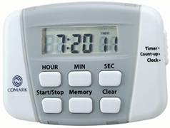 Timer, Digital with Clock