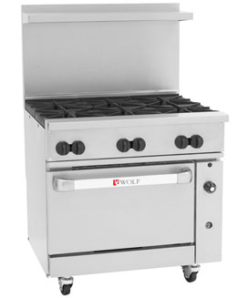Challenger XL 36 inch, with Convection Oven