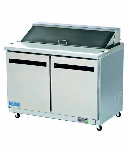 "Mega Top Prep Unit: 2 Door Salad/Sandwich Prep Unit (48"")"