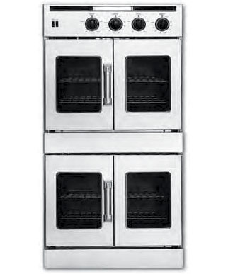Double French Door Wall Oven, Gas