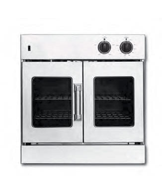 French Door Wall Oven, 30 inch (LP gas)