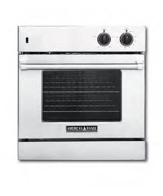 Chef Door Wall Oven, 30 inch (LP gas)