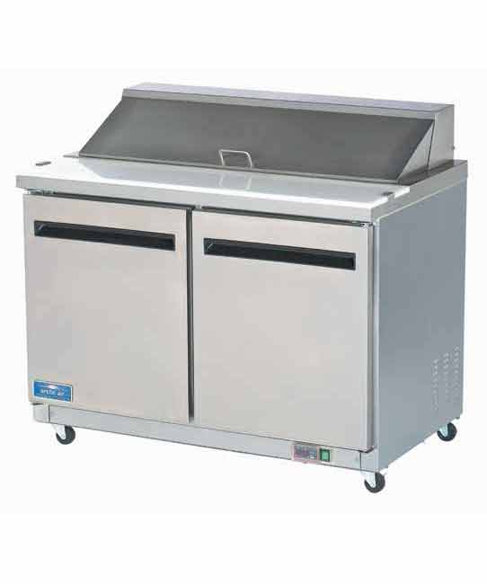 2 Door Sandwich/Salad Prep Unit Table by Arctic Air