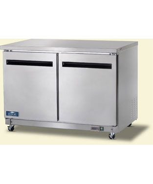 Freezer: 2 Door Under-Counter (or Prep Table)