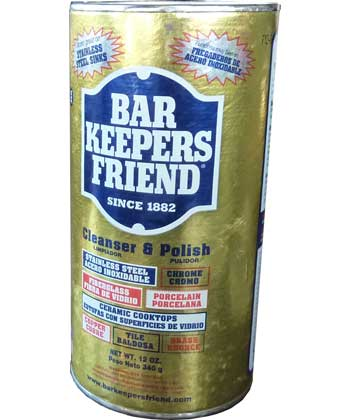 Bar Keepers Friend, Stainless Steel Cleaner