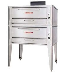 Gas Pizza Oven from Blodgett, Two Deck