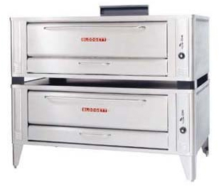 Gas Pizza Oven from Blodgett, Two Deck 60 inch
