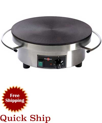 Krampouz CEBIF4 Crepe Griddle, Electric Single Round (208/240V)