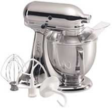 KitchenAid Artisan 5 quart Mixer: Custom Metallic Series: Brush