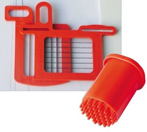 Dynacube Dicer Blade Set: 10 mm, 3/8 inch