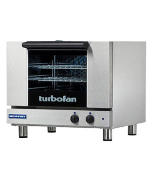 E22M3 TurboFan Convection Oven, half-size, 3-tray (120 Volt)