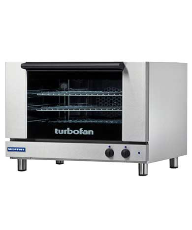 E27M3 TurboFan Convection Oven, full-size, 3-tray (208 Volt)