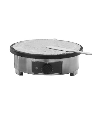 Equipex Professional Crepe Griddle, Enameled surface (120V)